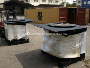 GWG-J series Coreless Medium Frequency Electric Smelting Oven pictures & photos