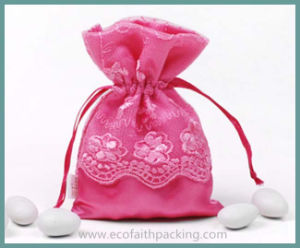 Baby Shower Satin Gift Pouch