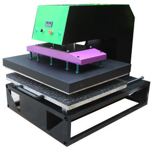 80X100cm Pneumatic Heat Transfer Machine Sublimation Printing Equipment pictures & photos