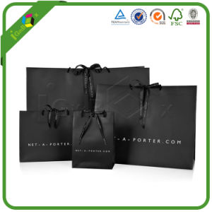 Luxury Custom Printing Printed Kraft Paper Shopping Packaging Carrier Gift Paper Bags for Packing with Handles pictures & photos