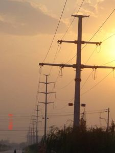 China Tubular Steel Power Transmission Tower (Galvanized) pictures & photos