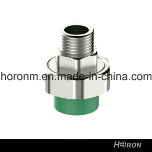 PPR Water Pipe Fitting (MALE THREAD UNION)