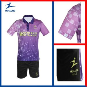 Good Design Factory Price Sublimatiom Ladies Table Tennis Jersey pictures & photos
