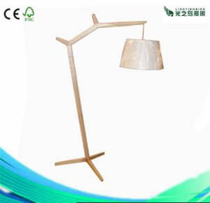 Top-Quality and Hot-Selling Wood Standing Lamp for Hotel and Restaurant (LBMD-JL)