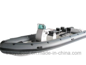 24feet Inflatable Rib730s Boat, Rescure Boat, Fishing Boat, Rigid Hull Boat, PVC or Hypalon pictures & photos