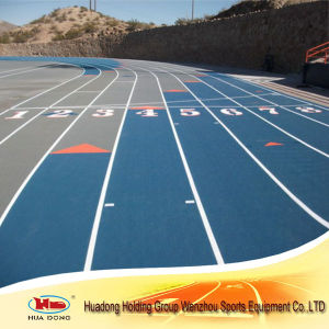Sports Court Use Synthetic Rubber Running Track in Recycled Rolls pictures & photos