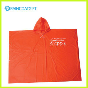Promotional Plain PVC Rain Ponchos (RVC-096A) pictures & photos