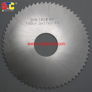DIN 1838 High Speed Steel Slitting Saw pictures & photos