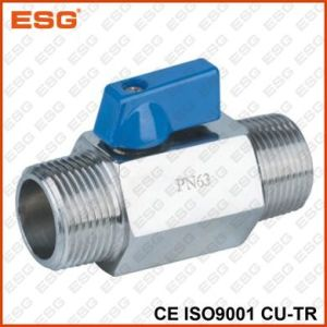 Esg Stainless Steel Mini Ball Valve pictures & photos