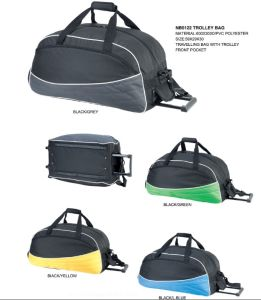 Luggage Outdoor Sport Duffel Bag with Trolley pictures & photos