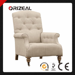 Diplomat Tufted Roll Arm Upholstered Chair (OZ-CC-034) pictures & photos