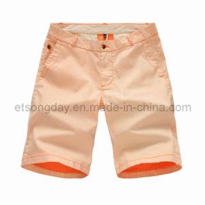 Hot Sale Cotton Spandex Men′s Shorts (44008) pictures & photos