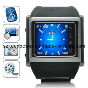 Fortaleza - Quad Band Watchphone in Stainless Steel pictures & photos