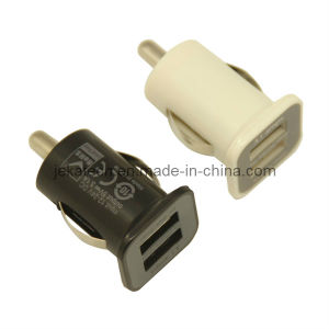 Mini USB Car Charger with Two USB Port pictures & photos