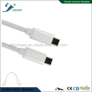 High 3.1 Standard Male-Male USB-C to USB-C 3.1 to Transfer Data and Charge White No Braided pictures & photos