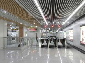 Metro Optical Half Height Flap Barrier Turnstile pictures & photos