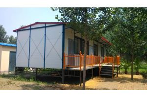 H-Section Customized Modular Movable Prefab Light Steel House pictures & photos