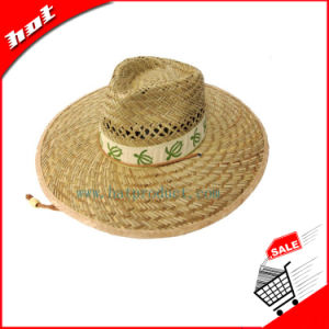 Hollow Straw Hat Rush Straw Hat Rush Safari Hat pictures & photos