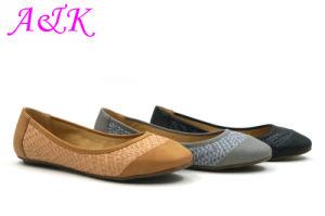 2016 Women Fashion Comfort Flat Lady Shoe (A1405138)
