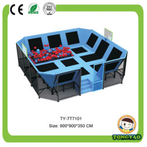 Customized Indoor Trampoline Park, Trampoline Bed for Kids and Adult (TY-150407) pictures & photos