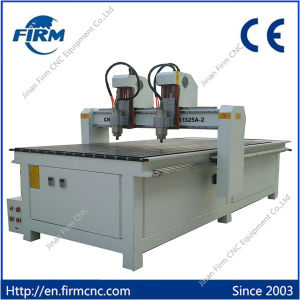 Double-Head CNC Wood Cutting Engraving Machine FM-1325 pictures & photos