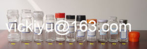 50ml~180ml Glass Spice Jars with Lid, Pepper Shaker pictures & photos