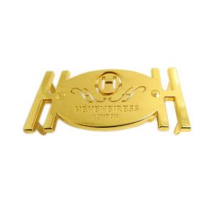 Bag Buckle Gold Colored Zinc Alloy Custom Metal Belt Buckle pictures & photos