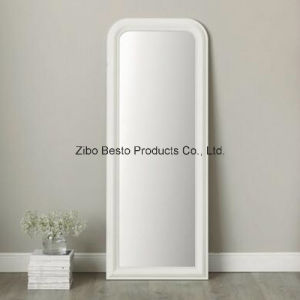 Full Length Wood Framed Wall Mirror White pictures & photos