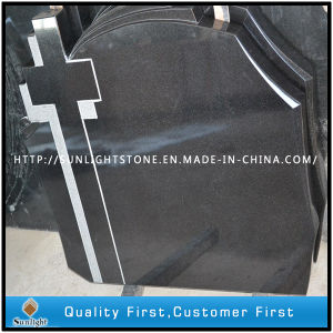 Russia/European Style Shanxi Black Celtic Cross Headstones for Cemetery pictures & photos