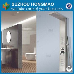 Stainless Steel Shower Panel Parts, Waterfall Shower Panel