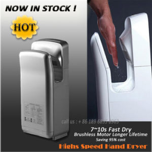 AIKE Electric High Speed Automatic Air Jet Hand Dryer for Bathroom CE CB UL pictures & photos
