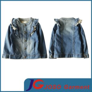 100% Cotton Girl Denim Jacket (JT5013) pictures & photos