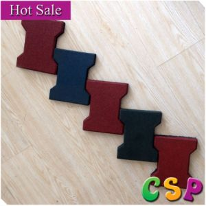 Highly Wearable Dog Bone Rubber Floor Mat pictures & photos