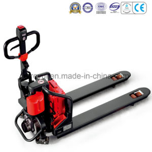 1.2t Economic Pedestrian Power Pallet Truck pictures & photos