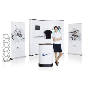 Spring Locked Pop up Display Stand S1 pictures & photos