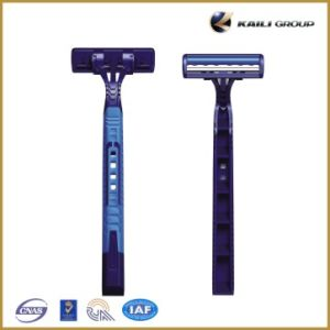 Twin Blade Disposable Shaving Razor Compete with Gillette pictures & photos