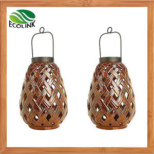 Ceramic Lantern LED Garden Solar Lamp pictures & photos