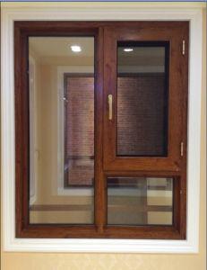 High Quality European Aluminium Wood Composite Window