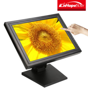 VGA USB Ports 15 Inch TFT LCD Resistive POS Connect Use Touch Screen Monitor pictures & photos