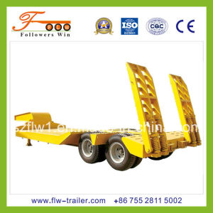 2axle Lowbed Semitrailer
