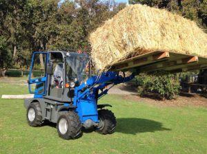 Hzm908 Jn908 800kg Loading Loader Mini Wood Machine Farm Mini Loader pictures & photos
