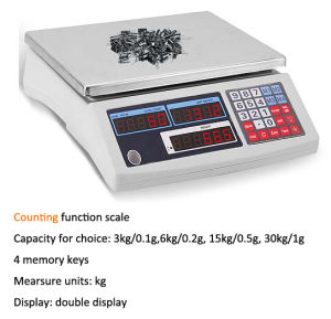 Industry Digital Electronic Weighing&Counting Scale 30kg pictures & photos