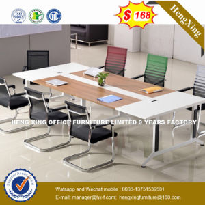 Steel Metal Base MFC Wooden Conference Table /Conference Desk (NS-NW283) pictures & photos