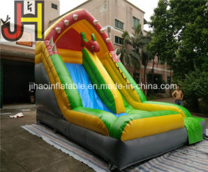 Customized Outdoor 6X4m Fish Theme Inflatable Slide for Kids pictures & photos
