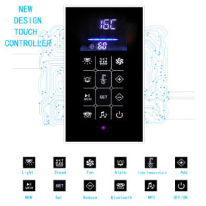Good quality Tempered Glass Hot Sale Steam Room (KB-811) pictures & photos