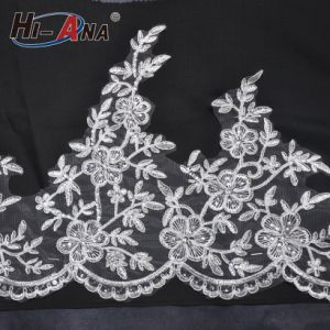 Top Quality Control Top Quality African Embroidery Lace Fabric pictures & photos
