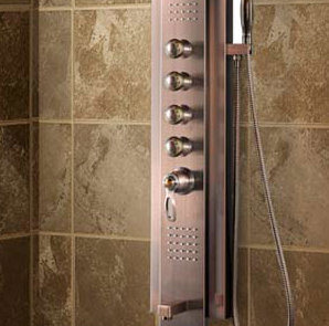 Stainless Steel Shower Panel, Shower Column with Temperature Display (K2216-1) pictures & photos