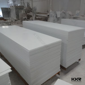 Shenzhen Kkr 6mm 12mm Pure White Acrylic Solid Surface Sheets pictures & photos