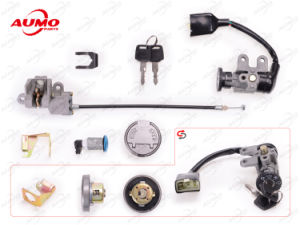 Lock Set for Baotian Bt49qt-9 Motorcycle Parts pictures & photos