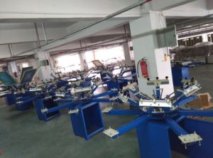 Spm Series Manual Rotary T-Shirt Printing Machine pictures & photos
